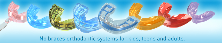 No braces orthodontic appliances for kids, teens, and adults